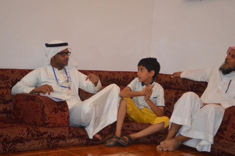 لقاء ذوي الشهيد علي بن عبدالخالق عالي محمد الرزقي القرني (6)