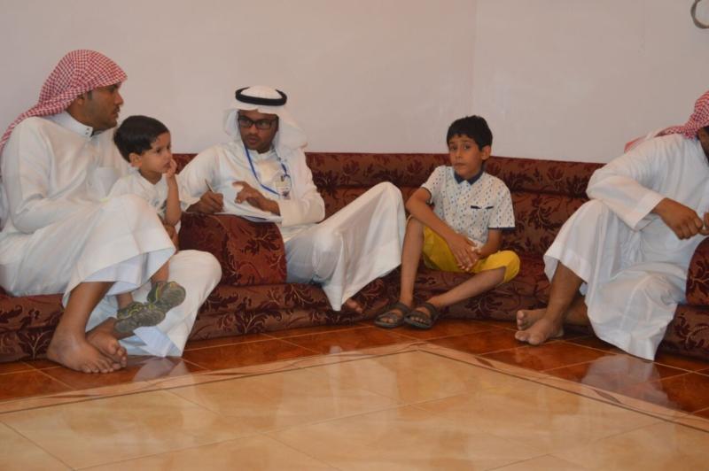 لقاء ذوي الشهيد علي بن عبدالخالق عالي محمد الرزقي القرني (7)