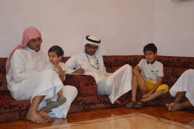لقاء ذوي الشهيد علي بن عبدالخالق عالي محمد الرزقي القرني (9)