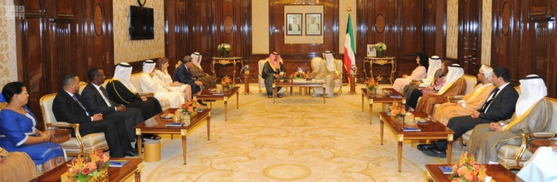 لقاء فانا مع رئيس وزرا الكويت