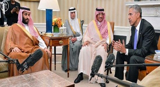 لقاء-ولي-العهد-ومحمد بن سلمان-مع-اوباما (3)