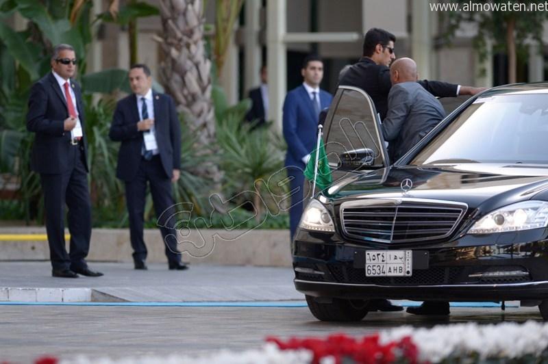 لقطات خاصة بصحيفة المواطن ترصد وصول #الملك_سلمان إلى مقر قمة العشرين (1)