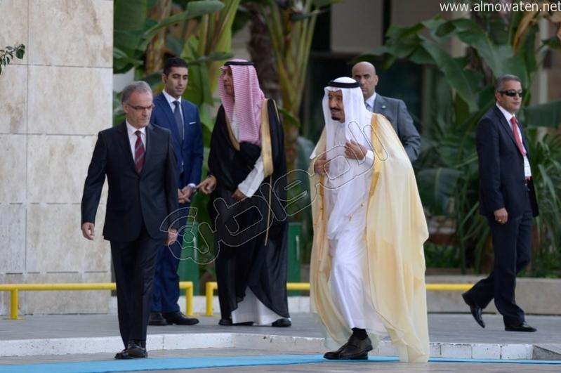 لقطات خاصة بصحيفة المواطن ترصد وصول #الملك_سلمان إلى مقر قمة العشرين (2)