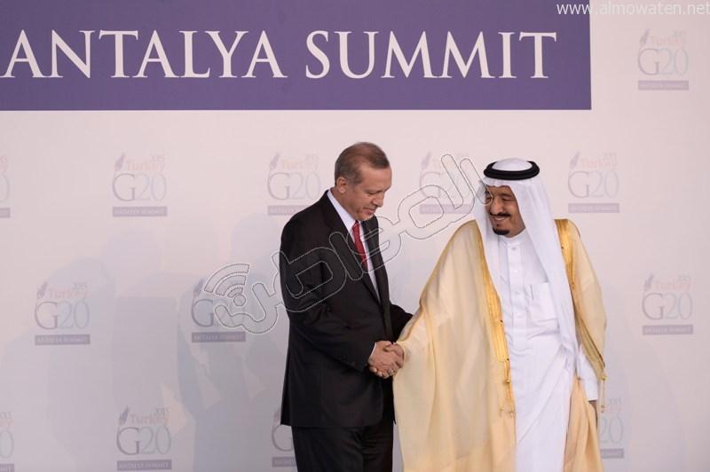 لقطات خاصة بصحيفة المواطن ترصد وصول #الملك_سلمان إلى مقر قمة العشرين (4)