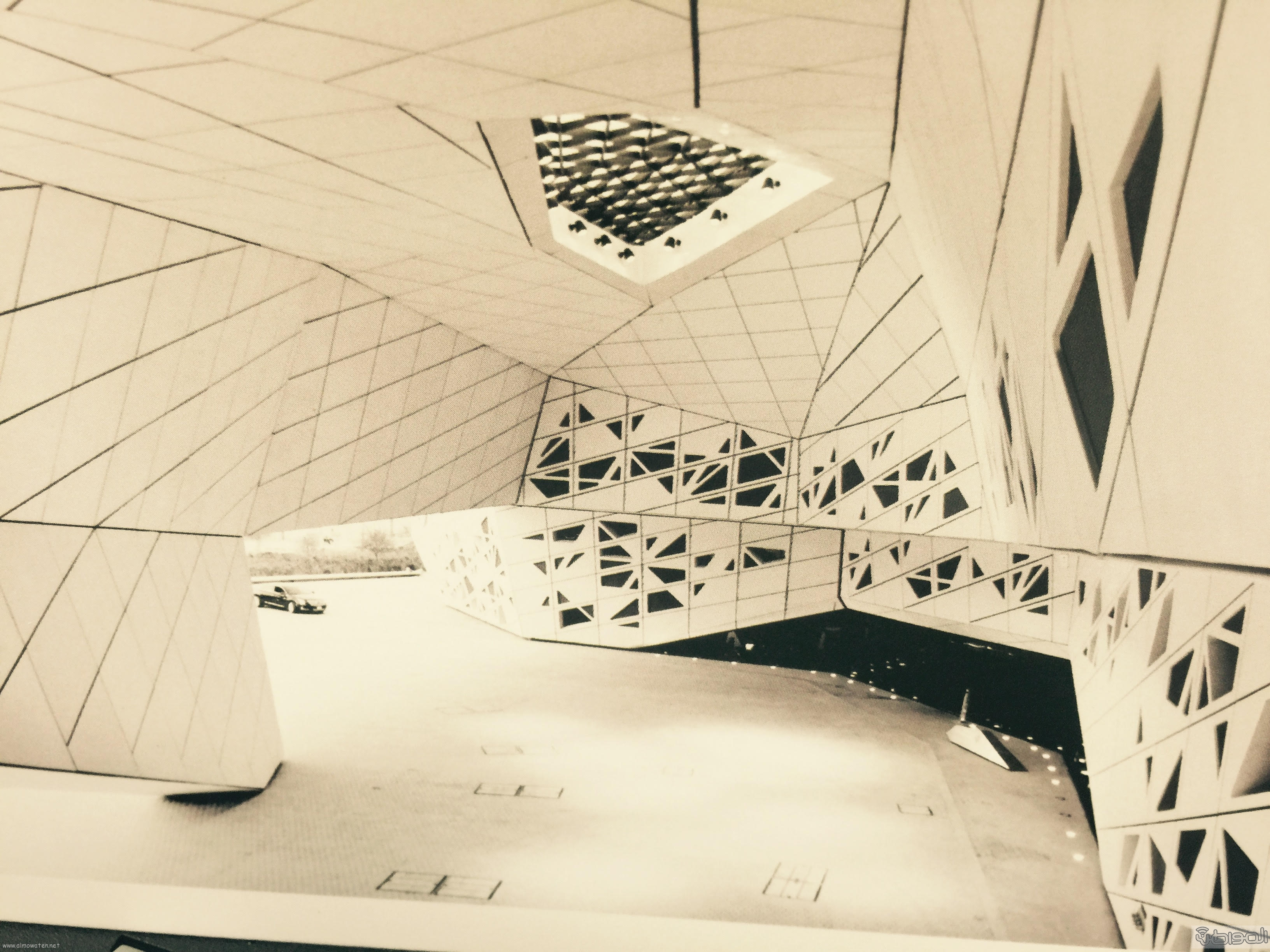 لقطات لمركز الملك عبدالله للدراسات والبحوث البترولية المرتقب افتتاحه اليوم (3)