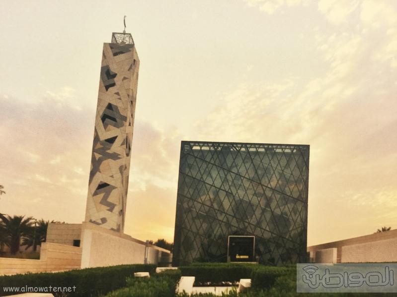 لقطات لمركز الملك عبدالله للدراسات والبحوث البترولية المرتقب افتتاحه اليوم (4)