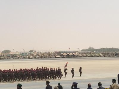 لقطات من العرض العسكري لقوات #رعد_الشمال أمام سلمان الحزم 1