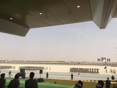 لقطات من العرض العسكري لقوات #رعد_الشمال أمام سلمان الحزم 3