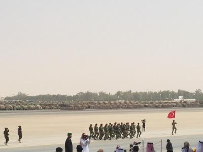 لقطات من العرض العسكري لقوات #رعد_الشمال أمام سلمان الحزم