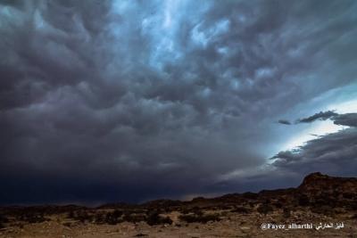 لقطات نادرة لسحب الماماتوس بسماء #الطائف (136968510) 