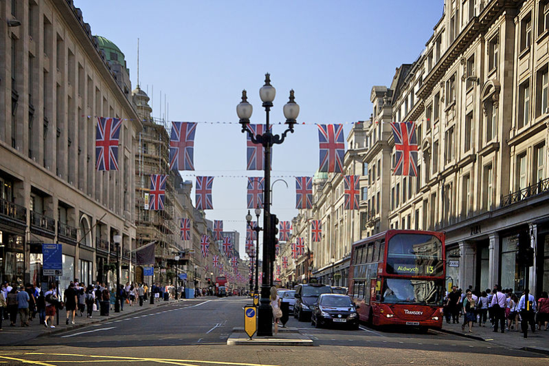 لندن شارع