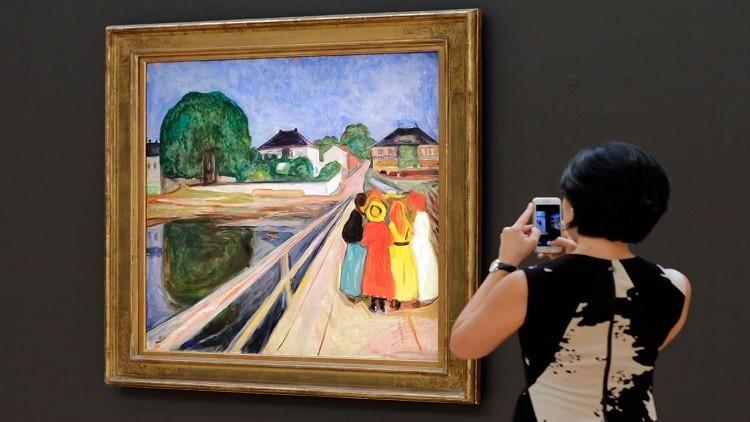 """لوحة """"فتيات على جسر"""" تباع بـ 54.5 مليون دولار"""