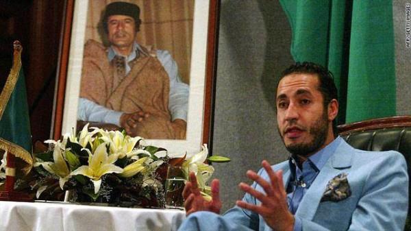 ليبيا تتسلّم الساعدي نجل القذافي من النيجر