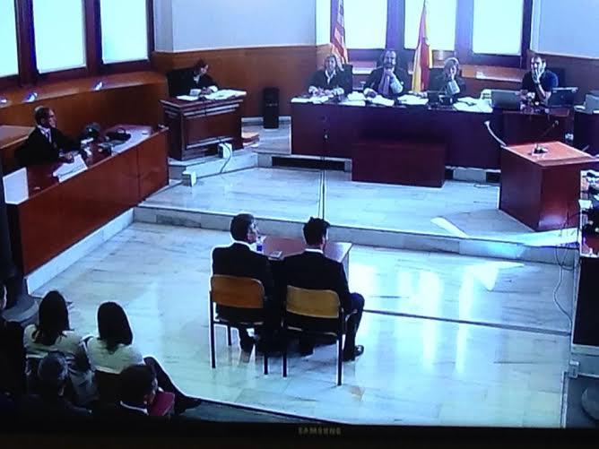 ليونيل ميسي في المحكمة بسبب قضية التهرب الضريبي (1)