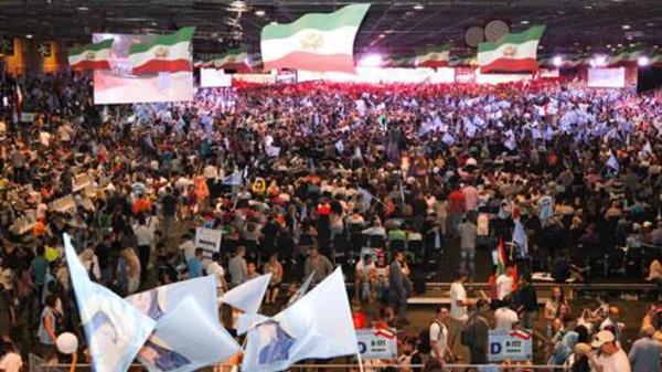 مؤتمر المعارضة الايرانية باريس