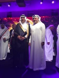 مؤسسة الملك فيصل الخيرية تتسلم جائزة سلطان العويس للإنجاز الثقافي1