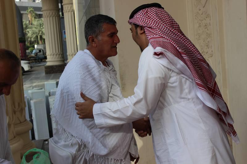 مؤسسة مطوفي حجاج الدول العربية تستقبل أولى طلائع حجاجها (1)