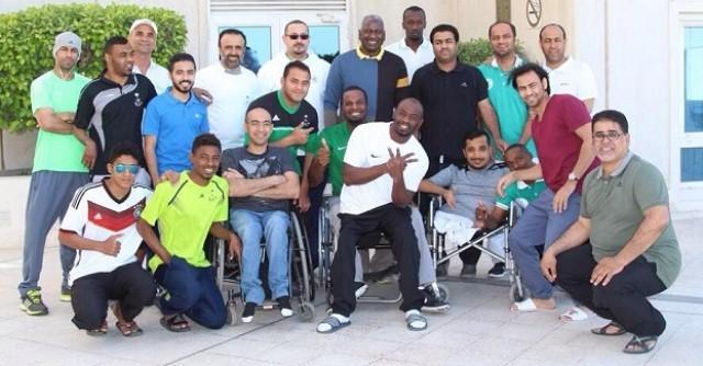 ماجد-عبدالله-يحتفل-باخضر-الاحتياجات 1