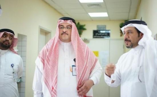 ماجد مغربي مدير مستشفى الملك خالد