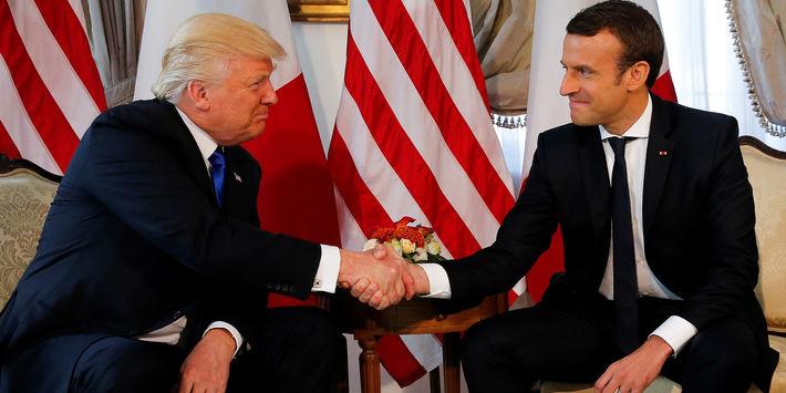 بيان هام من الرئاسة الفرنسية حول انسحاب ترامب من الاتفاق النووي الإيراني