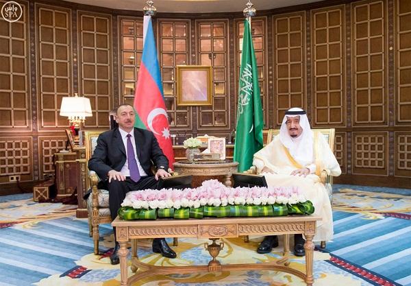 مباحثات-الملك-سلمان-ورئيس-اذربيجان