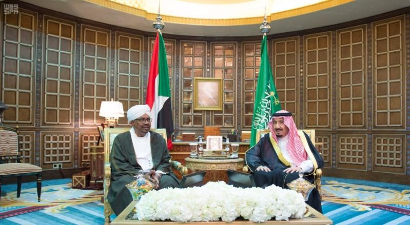 مباحثات الملك ورئيس السودان