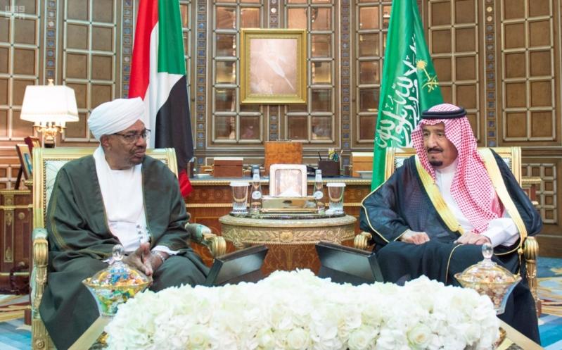 مباحثات الملك ورئيس السودان1