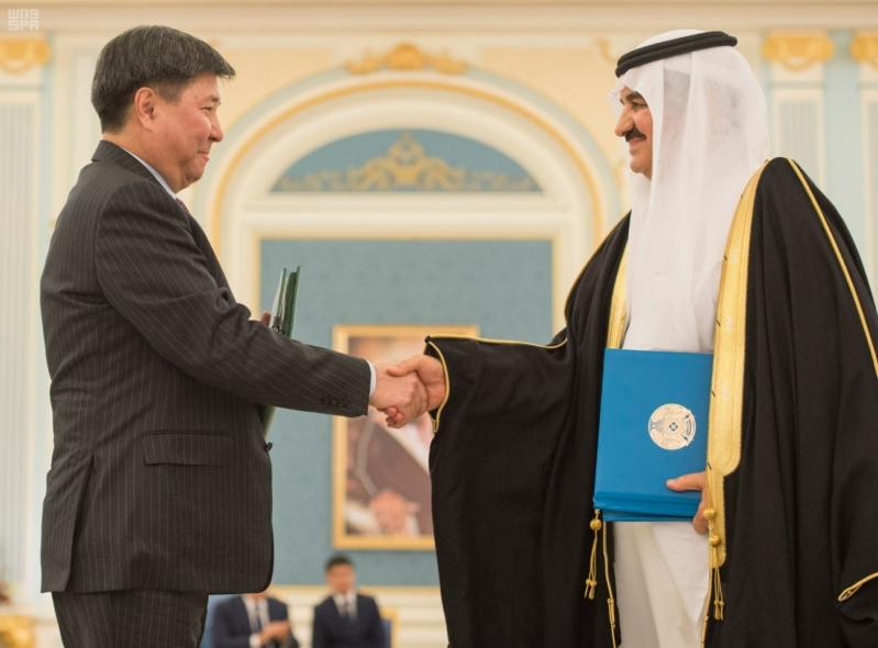مباحثات الملك ورئيس كازاخستان4