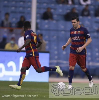 مباراة برشلونة و ريال مدريد استادالملك فهد -الرياض10