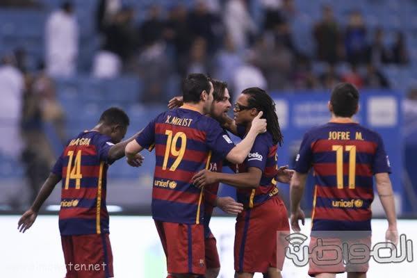مباراة برشلونة و ريال مدريد استادالملك فهد -الرياض11