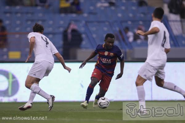 مباراة برشلونة و ريال مدريد استادالملك فهد -الرياض2