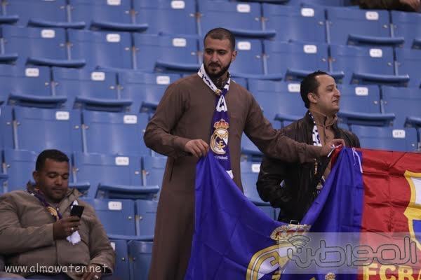 مباراة برشلونة و ريال مدريد استادالملك فهد -الرياض5