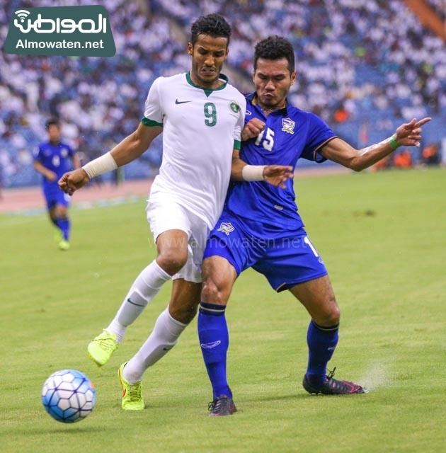 مبارة السعودية وتايلاند 16