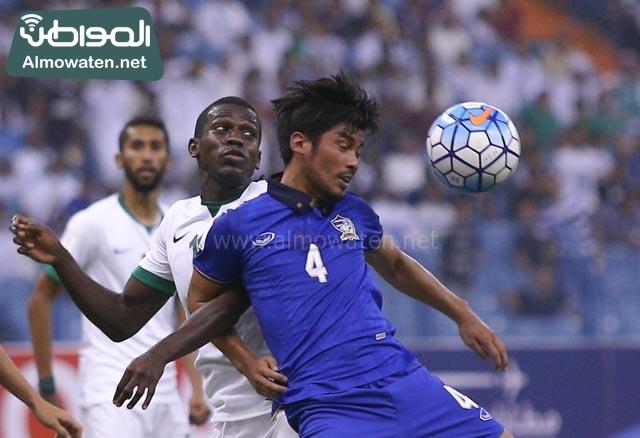 مبارة السعودية وتايلاند 18