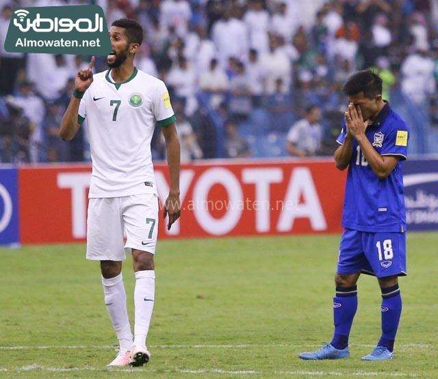 مبارة السعودية وتايلاند 21