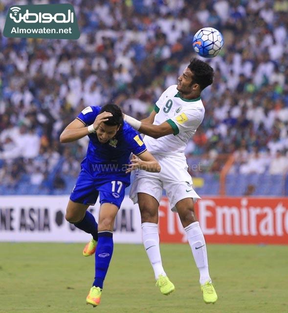 مبارة السعودية وتايلاند 8