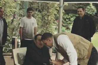 صورة مبارك من داخل مقر إقامته في مصر الجديدة - المواطن