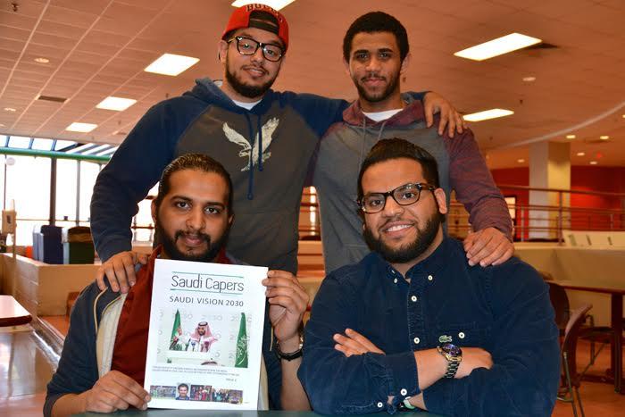 مبتعثون بأستراليا يصدرون أول صحيفة لهم ورؤية 2030 ومحمد بن سلمان يتصدران غلافها