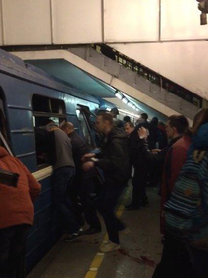 إبطال مفعول عبوة ناسفة ثانية في مترو سان بطرسبورغ