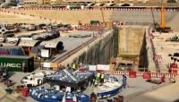 """إنتهاء أعمال الحفر بموقع آلة """"الأنفاق الشمالي"""" بقطار الرياض"""