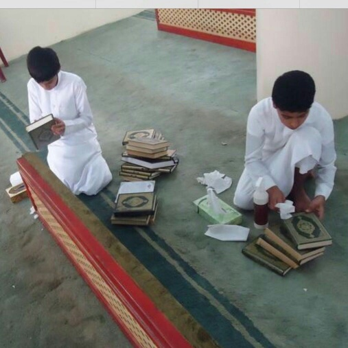 متطوعات الشرقية للمسؤولين أنقذوا المساجد (181687142) 