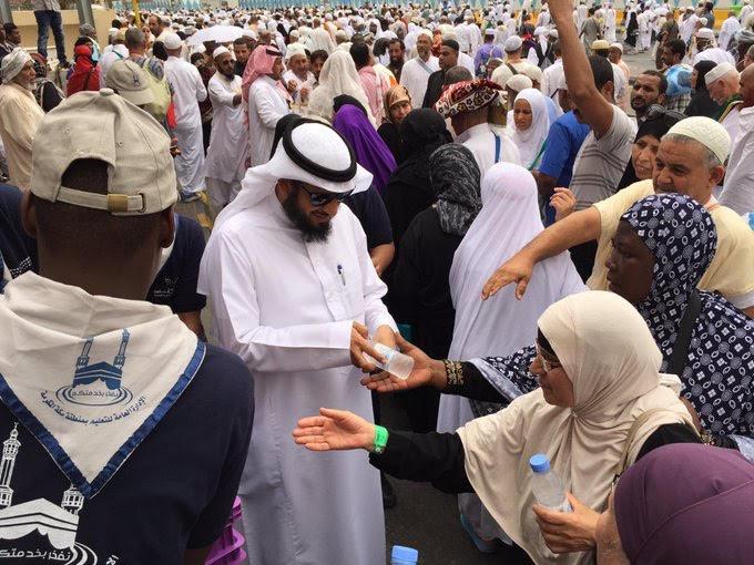 متطوعو مكة نموذج يفتخر به وخدمة الحاج شرف لنا