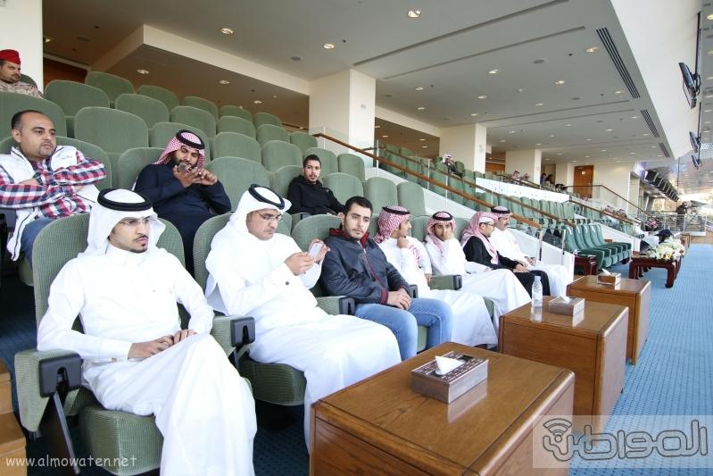 متعب بن عبدالله لـ المواطن  كؤوس الملوك والأمير بدر مخصصة لخيول الإنتاج  1
