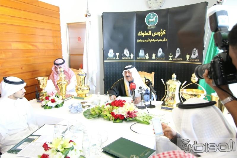 متعب بن عبدالله لـ المواطن  كؤوس الملوك والأمير بدر مخصصة لخيول الإنتاج  12