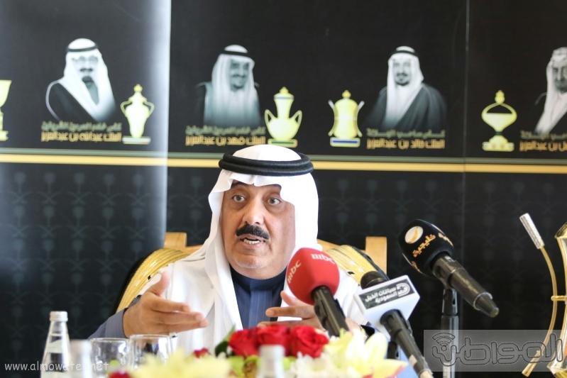 متعب بن عبدالله لـ المواطن  كؤوس الملوك والأمير بدر مخصصة لخيول الإنتاج 17
