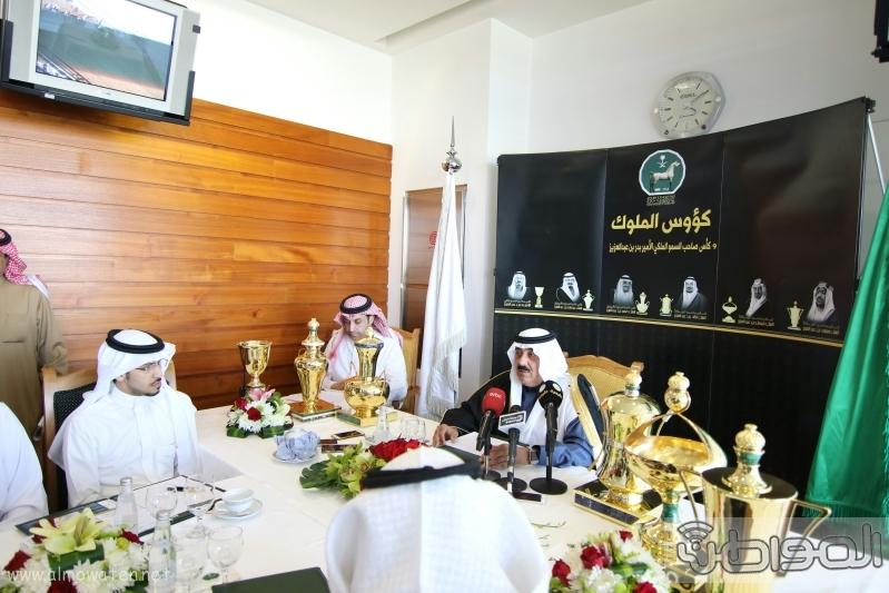 متعب بن عبدالله لـ المواطن  كؤوس الملوك والأمير بدر مخصصة لخيول الإنتاج  18