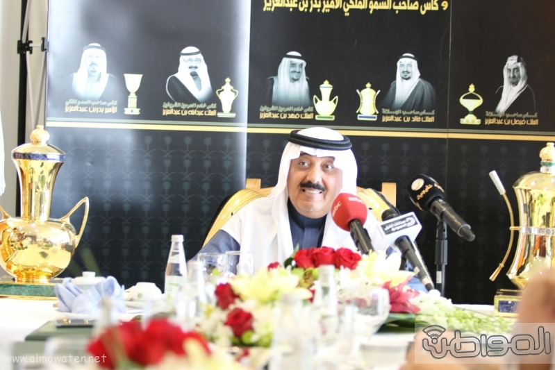 متعب بن عبدالله لـ المواطن  كؤوس الملوك والأمير بدر مخصصة لخيول الإنتاج  4