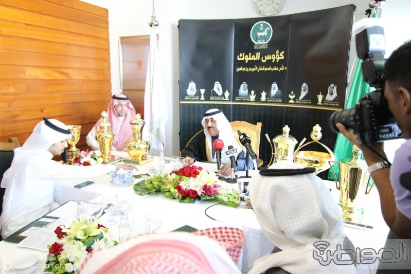 متعب بن عبدالله لـ المواطن  كؤوس الملوك والأمير بدر مخصصة لخيول الإنتاج  8