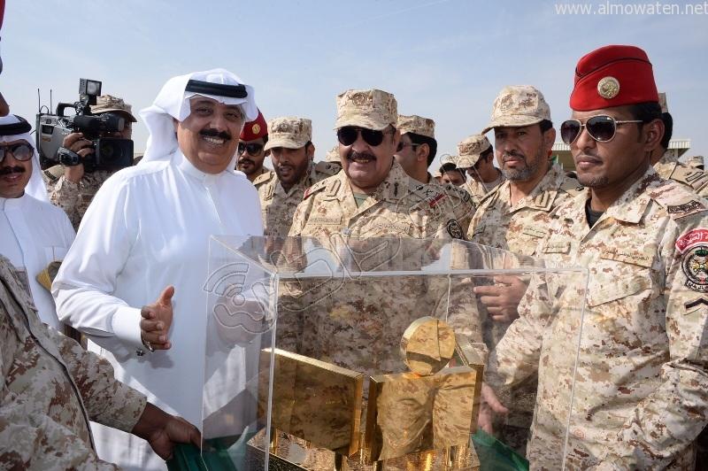 متعب بن عبدالله نتشرف بتنفيذ أوامر #خادم_الحرمين في أي مكان وزمان (1)