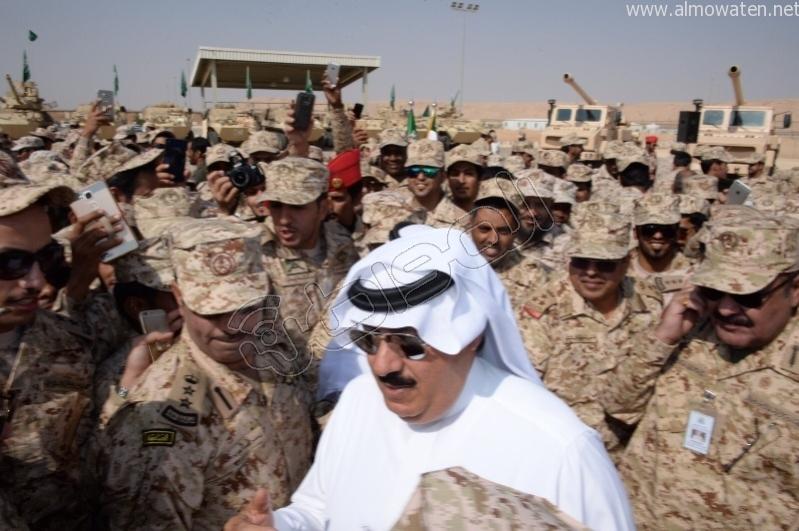 متعب بن عبدالله نتشرف بتنفيذ أوامر #خادم_الحرمين في أي مكان وزمان (3)